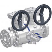 double block & bleed piping ball valves